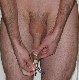 Huge toy bondage